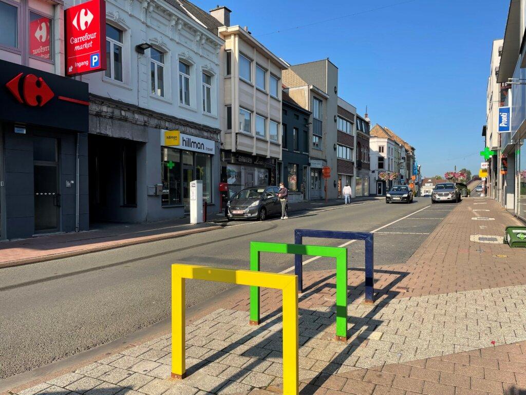 Stadcentrum Geraardsbergen wordt fietszone